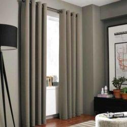 Rèm phòng ngủ màu nâu
