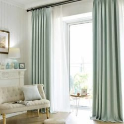 Mẫu rèm cửa phòng khách đẹp giá rẻ