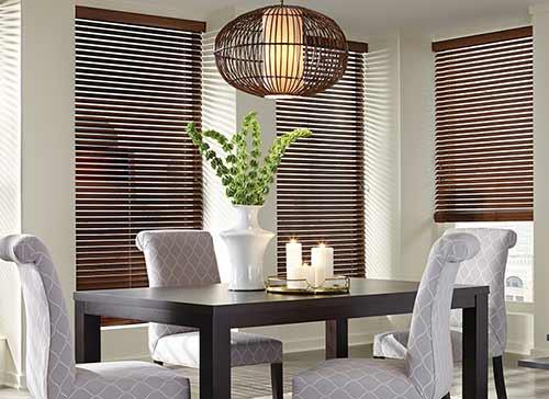 Rèm gỗ tự nhiên phòng ăn