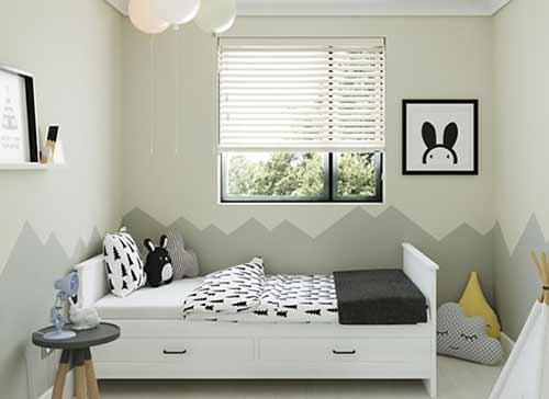 rèm gỗ phòng ngủ