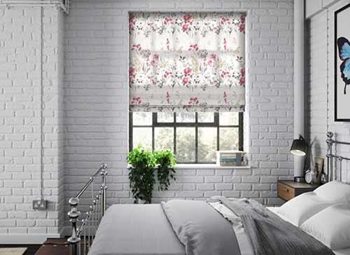 rèm roman phòng ngủ