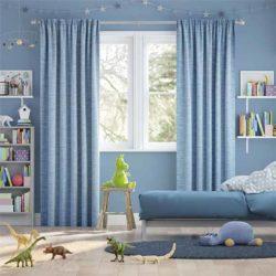Rèm vải phòng ngủ trẻ em