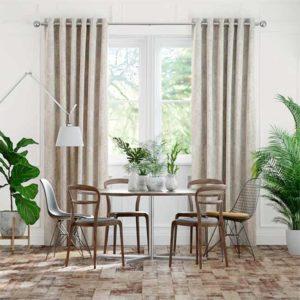 Rèm vải cửa sổ chống nắng