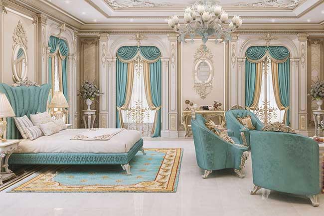 rèm phòng ngủ cổ điển