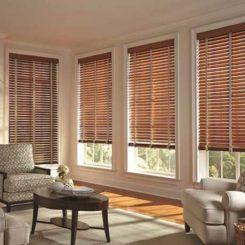 Xu hướng của rèm gỗ sang trọng cho cửa sổ