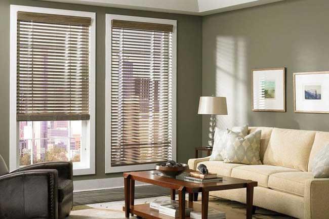 Xu hướng sử dụng rèm gỗ trong nội thất