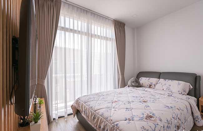 Rèm phòng ngủ chung cư Q2