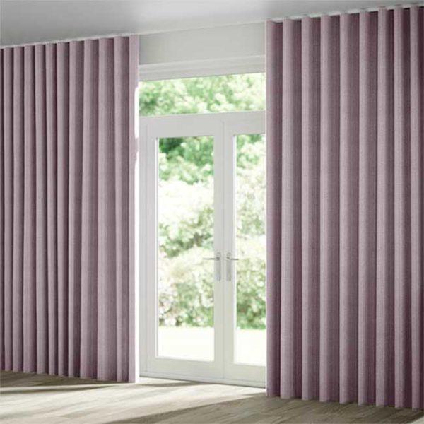 màn vải 2 lớp sang trọng