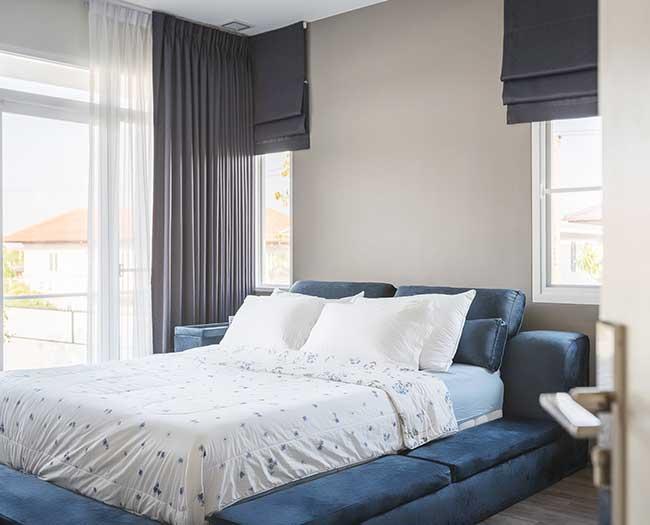 Rèm phòng ngủ cao cấp Hàn Quốc