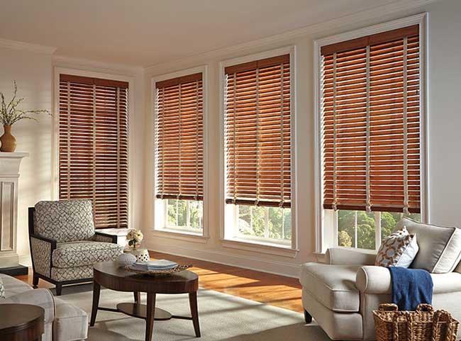 rèm cửa sổ cao cấp bằng gỗ