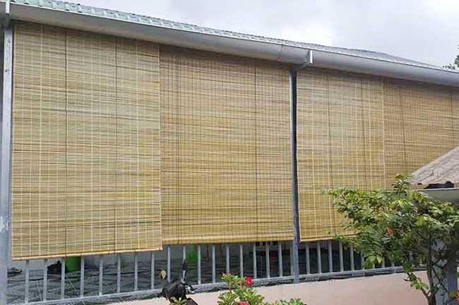 Mành tre trúc chống nắng mưa