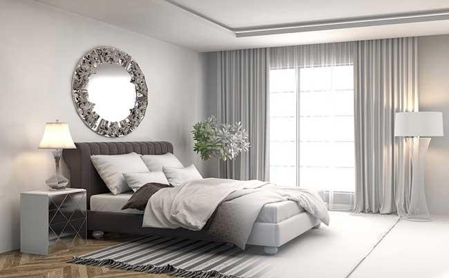 Rèm cửa hiện đại cho phòng ngủ