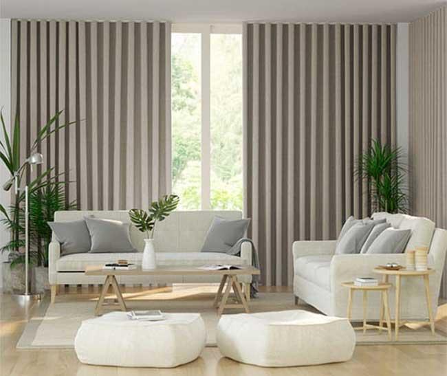 Mẫu thiết kế rèm phòng khách đẹp